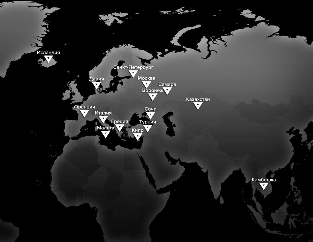Карта проектов MAX \ MAX