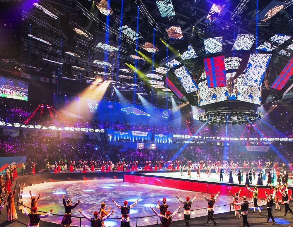 Церемония открытия зимней Универсиады 2017